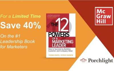 The 12 Powers of a Marketing Leader — Blockbuster Sale