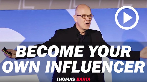 Become your own influencer