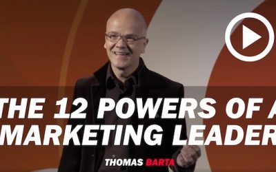 Keynote: The 12 Powers of a Marketing Leader