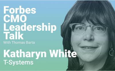 """T-Systems CMO Katharyn White: """"We Must Redefine The Chief Marketing Officer Role"""""""
