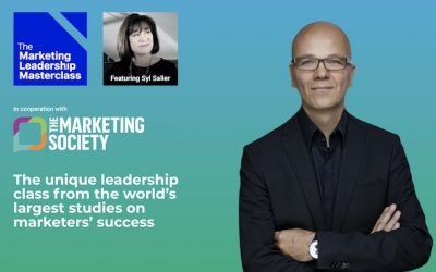 April 7: Marketing Leadership Masterclass