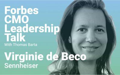 """Sennheiser CMO Virginie De Beco: """"Be You!"""""""
