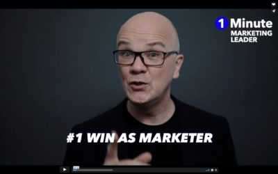 1 Minute Marketing Leader: #1 Win as a marketer