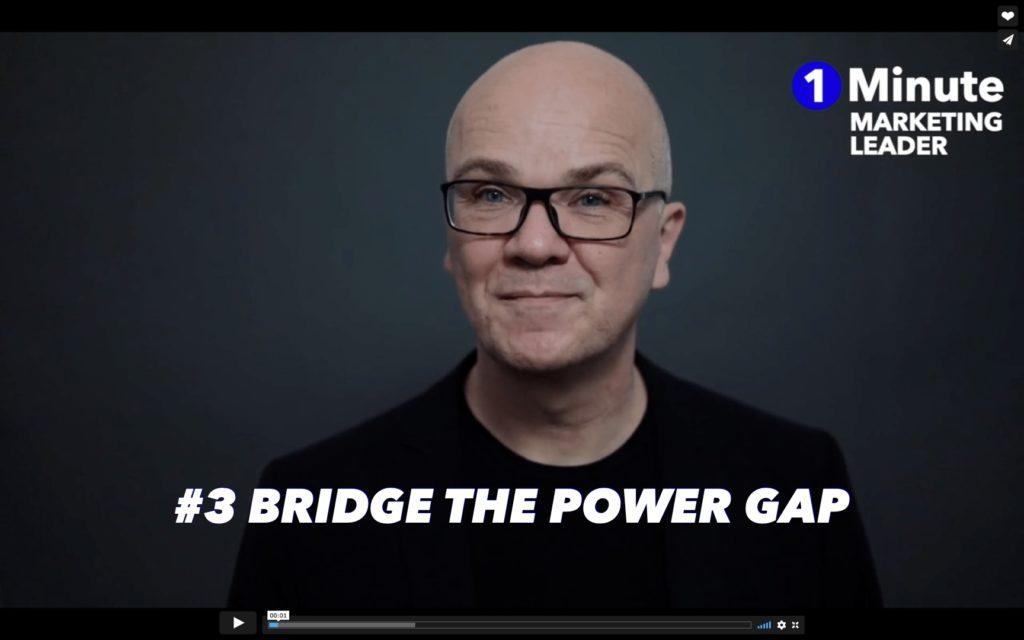 #3 Bridge the power Gap