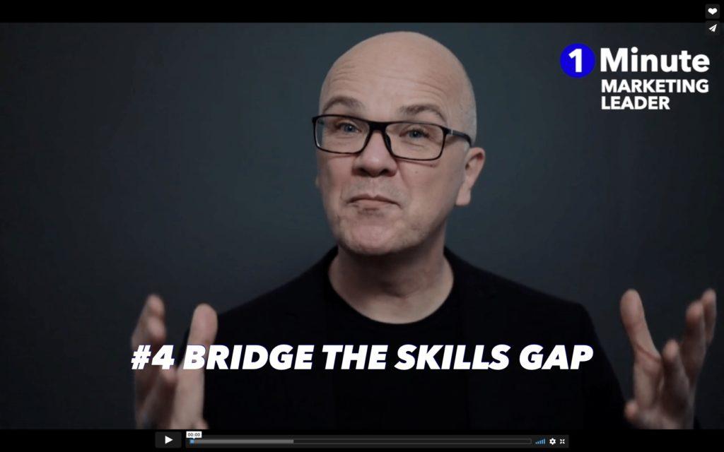 #4 Bridge the skills Gap