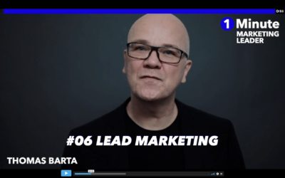 1 Minute Marketing Leader: #06 LEAD marketing