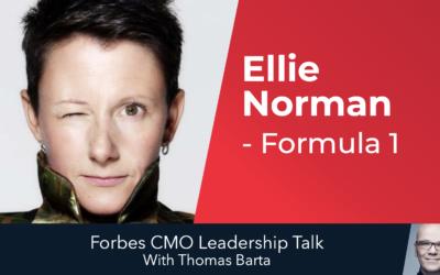 """Formula 1 CMO Ellie Norman: """"Hold Your Nerve"""""""