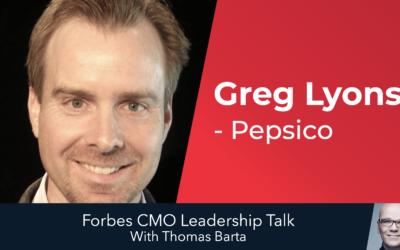 "PepsiCo CMO Greg Lyons: ""We Must Bring Empathy Back Into Marketing"""