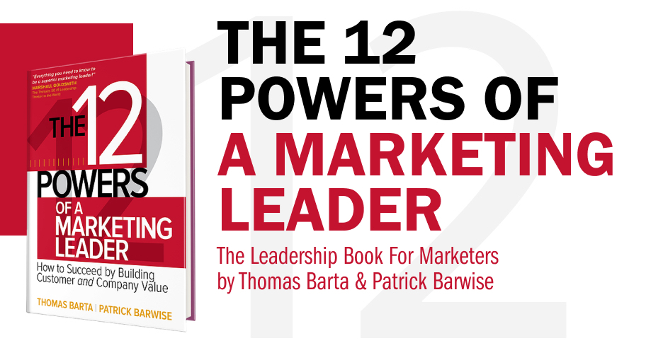 the 12 powers of a marketing leader book