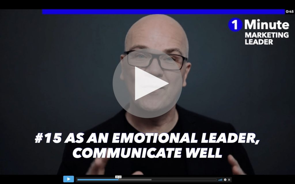 #15 As an emotional leader, communicate well_a